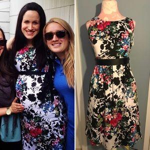 Motherhood Maternity Floral Sleeveless Dress